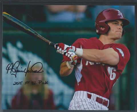 Andrew Benintendi Signed 8x10 Picture Inscribed