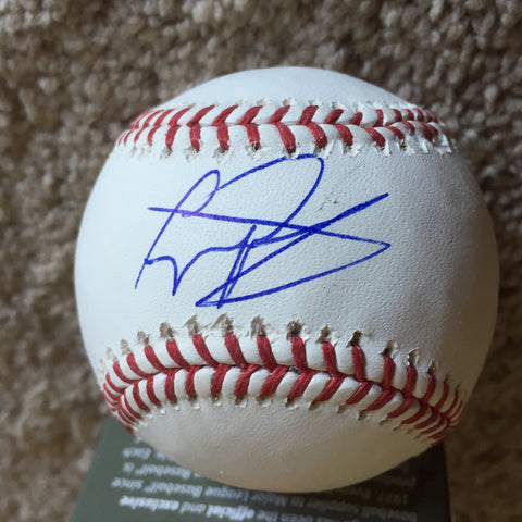Gregory Polanco signed PSA/DNA authenticated Official Major League baseball