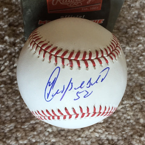 Yoenis Cespedes signed PSA/DNA authenticated Official Major League baseball