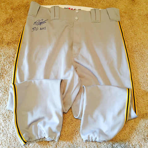 Gregory Polanco 2013 Game Used Pants