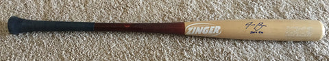 Jake Bauers 2014 Game Used Cracked Bat