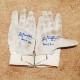 Rob Refsnyder 2015 Game Used Batting Gloves (pair)