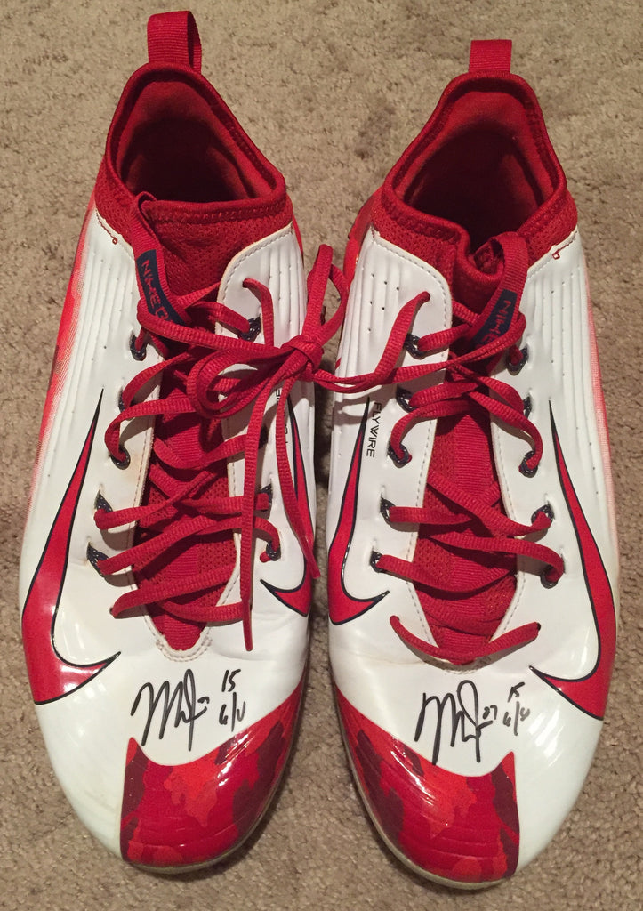 ec4c30d56c2 Mike Trout 2015 Game Used Cleats (pair) – Anderson Authentics