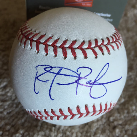 Rob Refsnyder signed PSA/DNA authenticated Official Major League baseball