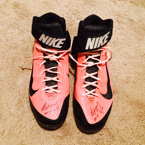 Yoenis Cespedes 2014 Game Used Cleats (Mother's Day)