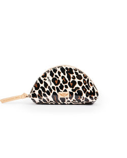 Medium Cosmetic, Mona Brown Leopard!