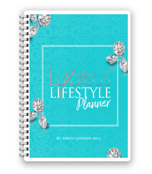 30 Day Luxurious Lifestyle Planner (Digital Download)