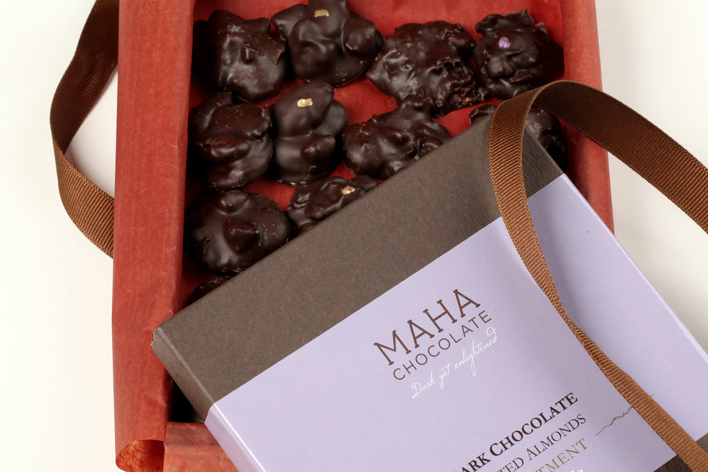 MAHA CHOCOLATE Almond Assortment Box
