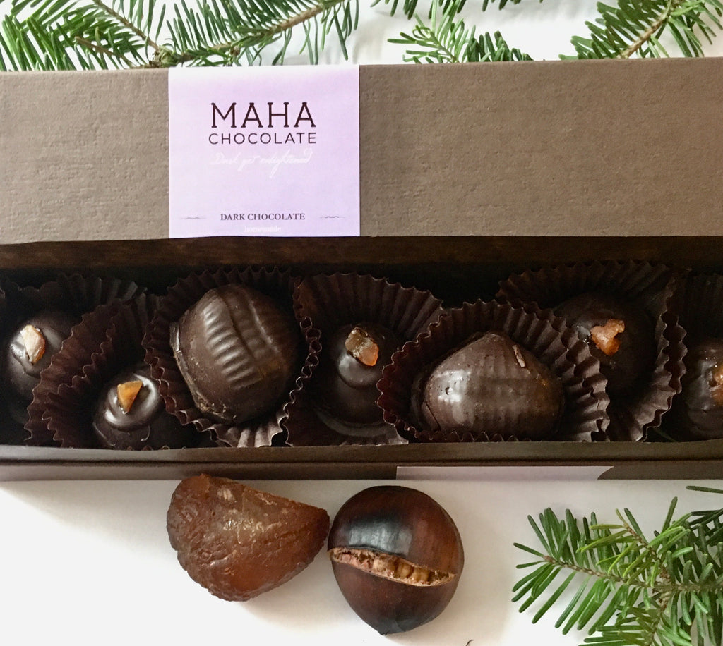 Marrons Glacés - mahachocolate