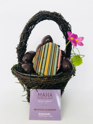 Small basket Easter Eggs