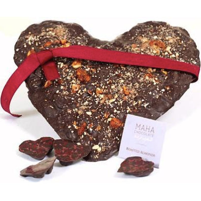Valentine Heart Chocolate - mahachocolate