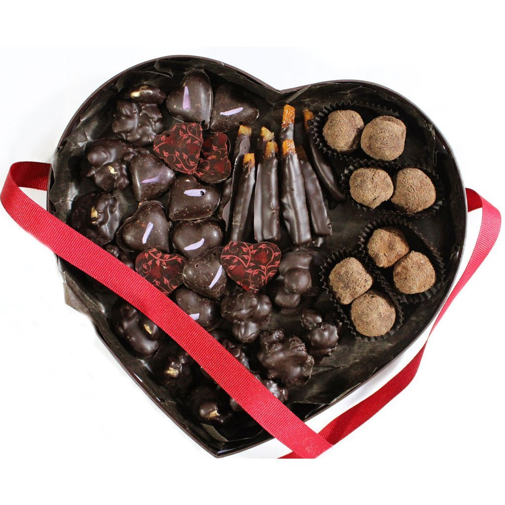 Heart Box Assortment - mahachocolate