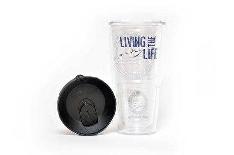 Your Boat Club Living the Boat Life Tervis Insulated Tumbler with Lid - 24oz