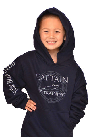 Your Boat Club - Youth Captain in Training Unisex Hoodie - navy