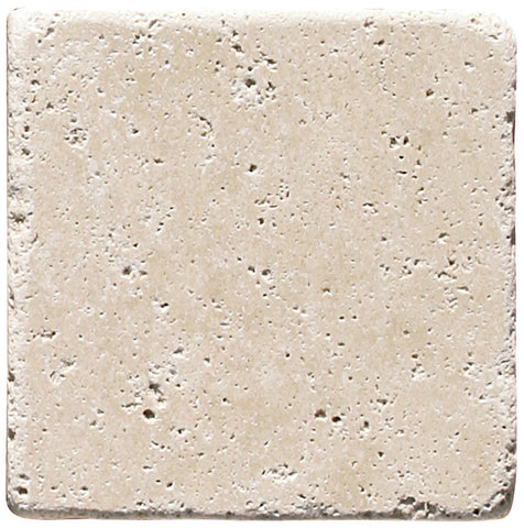 "12"" x 12"" Durango Light Travertine Tile Tumbled"