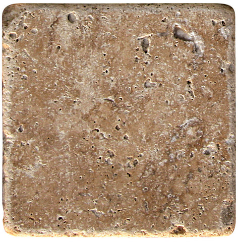 "12"" x 12"" Durango Noce Travertine Tile Tumbled"