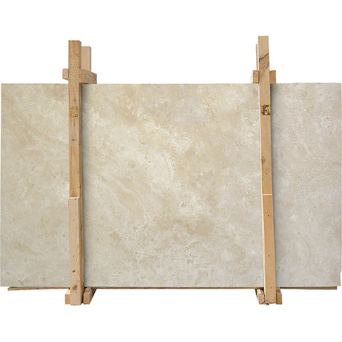 Durango Travertine Honed Filled 2 cm Travertine Slab Sample