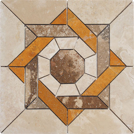 Medallion Durango Travertine Honed