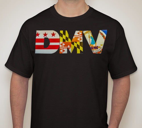Classic Men's DMV T-Shirt - Black