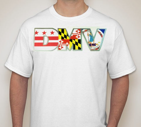 Classic Men's DMV T-Shirt - White