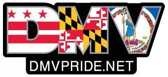 The DMV Pride Magnet