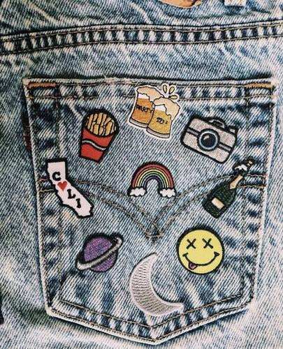 levis, jeans, denim, jean shorts, urban outfitters, zumiez, pacsun, patch, pin, patches, flair, hipstapatch, urban outfitters, diy
