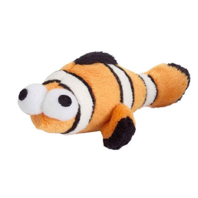Catnip Filled Cat Toy Clown Fish