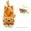 Catnip filled Toy Cat with Bell 7 inches
