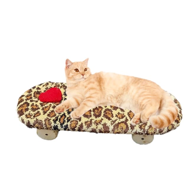 Captain Catnip Cat Furniture Skateboard Bed - Cat Furniture