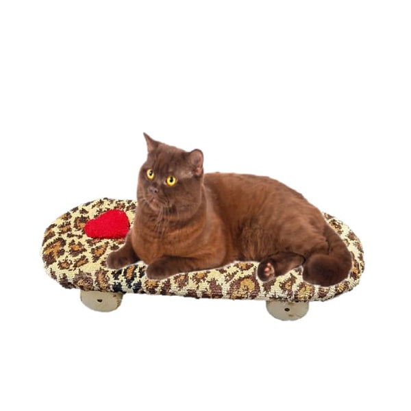 Captain Catnip Cat Furniture Skateboard Bed
