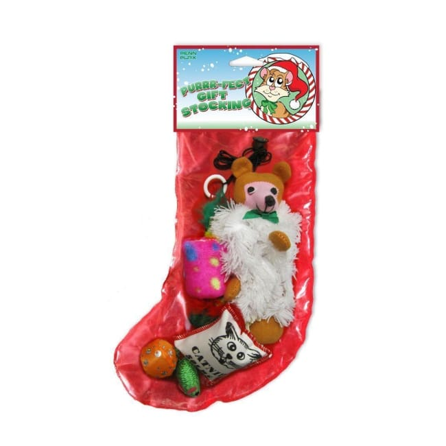 Cat Toys Assorted Stocking -5 Pack - Cat Toy