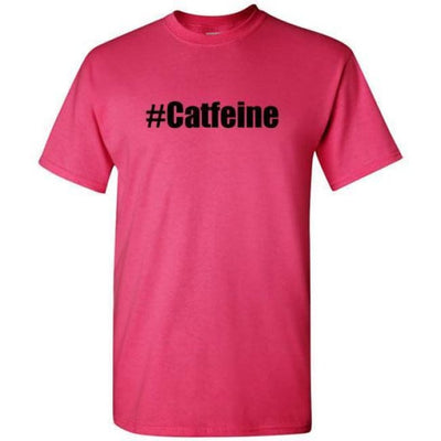 Catfeine T Shirts - Heliconia / S