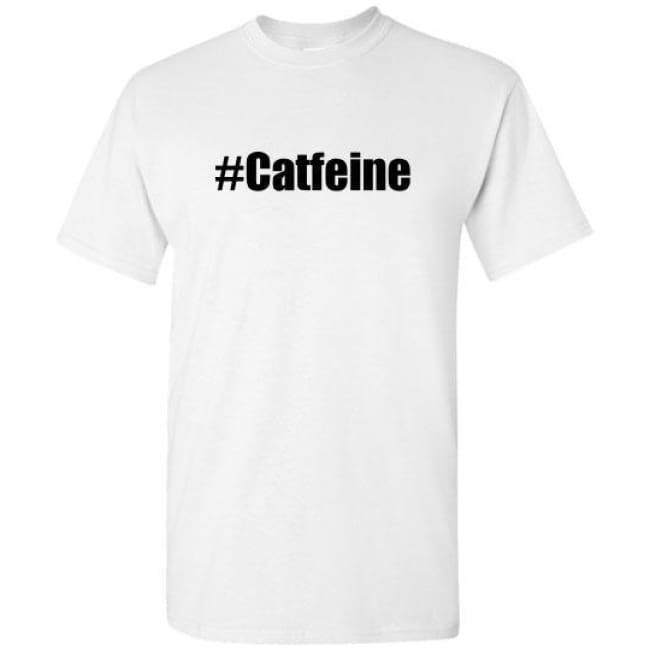 Catfeine T Shirts - White / S