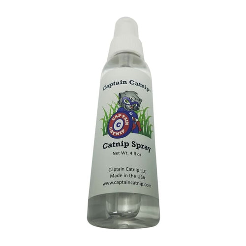 Catnip Spray Organic Liquid Extract : 4 ounce bottle