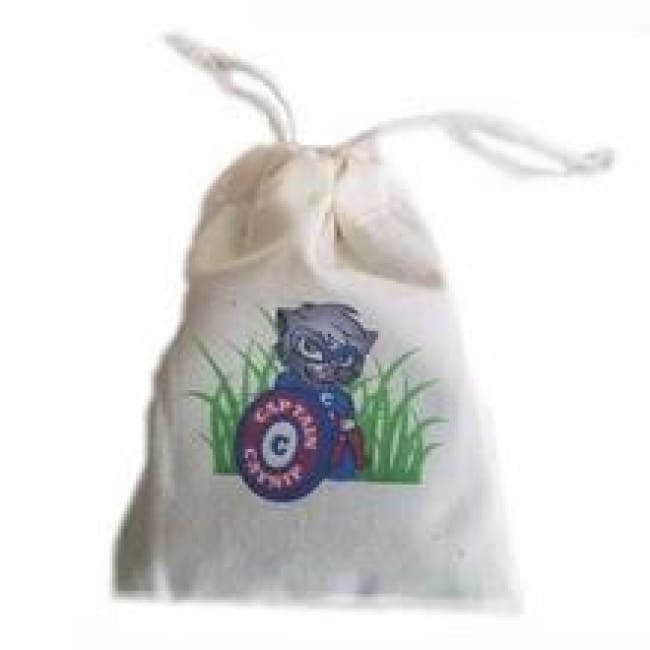 Catnip Toy Bag With Drawstrings Prefilled With Catnip: 1/2 Ounce - Cat Toy