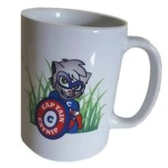 Coffee Mug 11Oz Captain Catnip Logo - Cat Care
