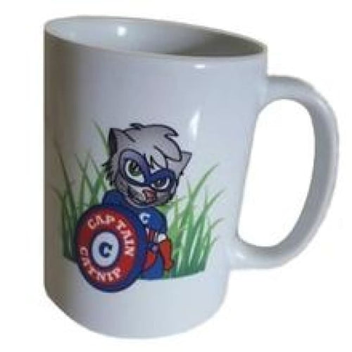 Coffee Mug 11oz Captain Catnip logo