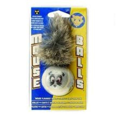 Mouse balls cat toy infused with farm fresh catnip