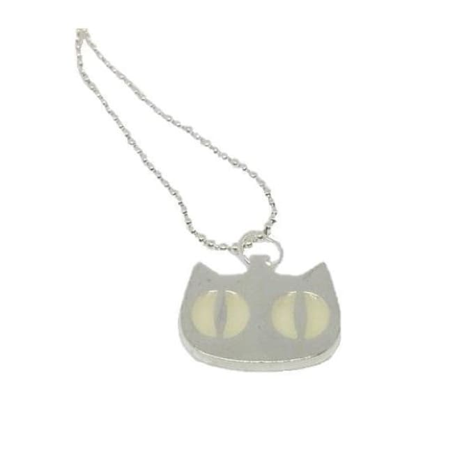 Necklace Glow In The Dark Cat Eyes - Cat Jewelry
