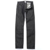 005 Low Rise Straight Fit Black Jeans With Black Stitching