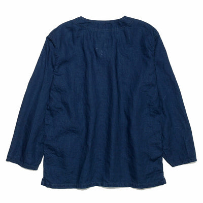 4cecc9aa8ad Linen Pullover in Indigo - BLUE IN GREEN SOHO