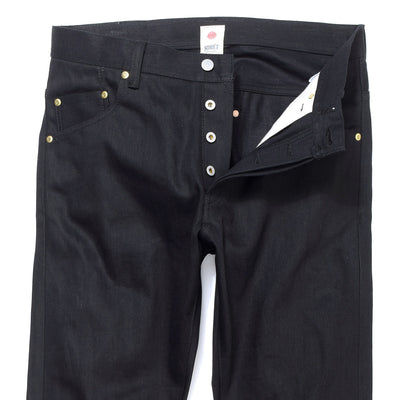 ba2ed88198 033 14oz BLK x BLK High Rise Tapered Slim Leg Fit Jeans - BLUE IN ...