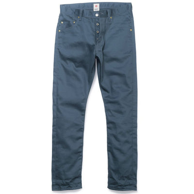 034 Vintage Chino Cloth Writer's Pants - Blue x Gray