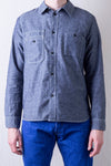 2209-1 Indigo Chambray Work Shirt