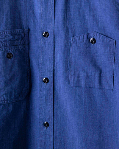 2209-2 Double Natural Indigo Work Shirt