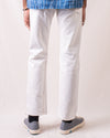 The 10th Anniversary White Jeans AA710 Slim Straight