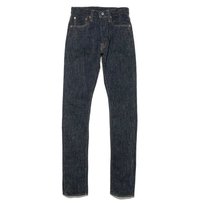 Cotton Chenille Denim 5P Relax Tapered Jeans
