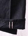 13oz Black Denim TYPE-lll Model Slim Fit