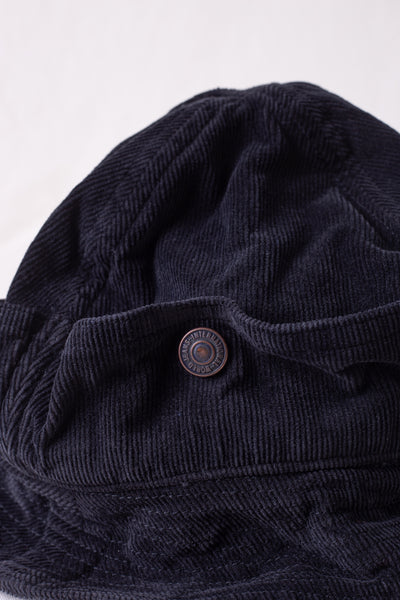 16W Corduroy BUSH Hat - Black