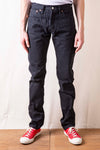 17oz Colorfast Black Slim Tapered Jeans